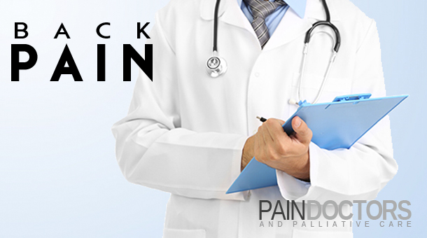 Chronic back pain may originate from an injury, disease or stresses on different structures of the body.