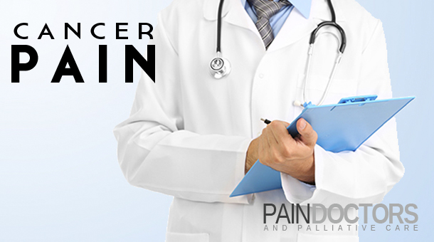 Cancer pain may not just be from the physical effect of the cancer on a region of the body, but also due to chemicals that the cancer may secrete in the region of the tumor. Treatment of the cancer can help the pain in these situations.