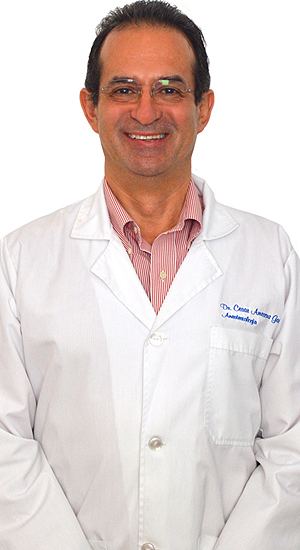 Dr. Cesar Amescua, is a board-certified anesthesiologist and pain management specialist. He leads the Department of Pain Management at Hospital Angeles Tijuana.