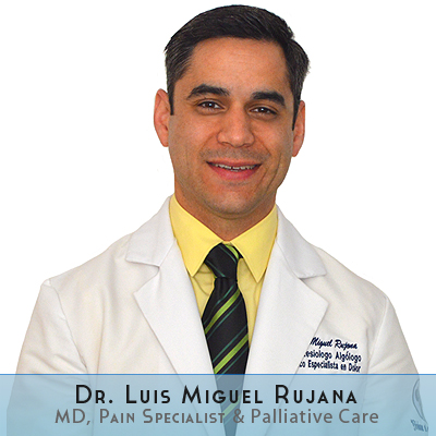 Dr. Luis Rujana is one of our pain management doctors at Hospital Angeles Tijuana. Luis Miguel Rujana, MD, received a Medical Degree from Universidad Autónoma de Baja California, (UABC) and is a certified Anesthesiologist with a specialty in Pain and Palliative Care Medicine.