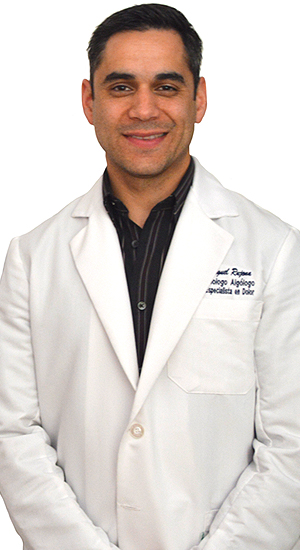 Dr. Luis Miguel Rujana, is a board-certified anesthesiologist and pain management specialist. He works in the Department of Pain Management at Hospital Angeles Tijuana.